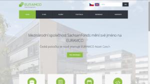 EURAMCO Asset Czech - firemní web na WordPressu