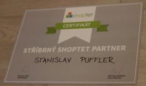 Stanislav Puffler je stříbrným partnerem Shoptetu s certifikací